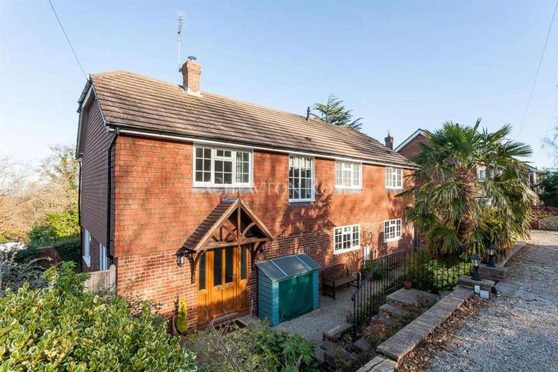 4 Bedrooms Detached House for sale in Vicarage Road, Burwash Common, East Sussex TN19
