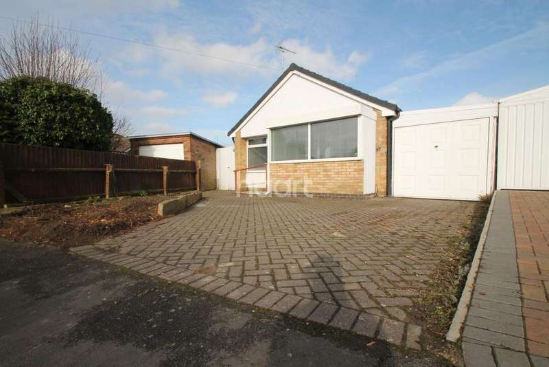 2 Bedrooms Bungalow for sale in Pits Avenue, Braunstone Town, Leicester