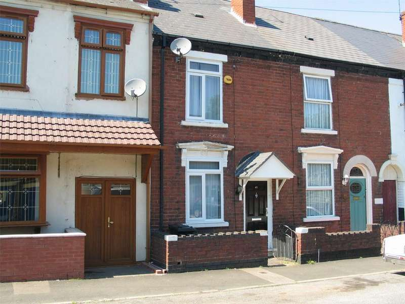 2 Bedrooms Terraced House for sale in William Street, BRIERLEY HILL, West Midlands
