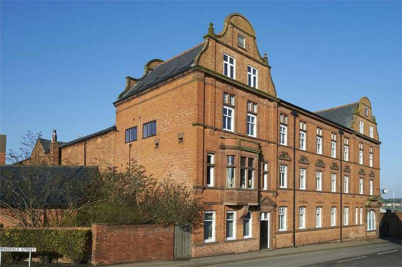 2 Bedrooms Flat for sale in The Old Coffee Mills, Northampton Road, Market Harborough