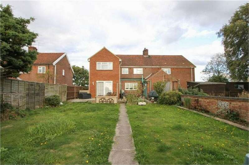 5 Bedrooms Semi Detached House for sale in Oxwick Road, Horningtoft, Dereham, Norfolk
