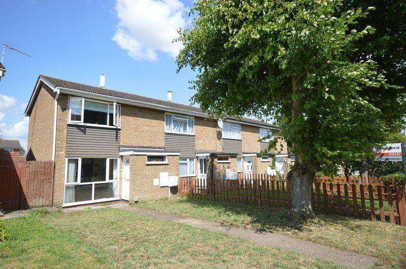 2 Bedrooms End Of Terrace House for sale in Houghton Regis