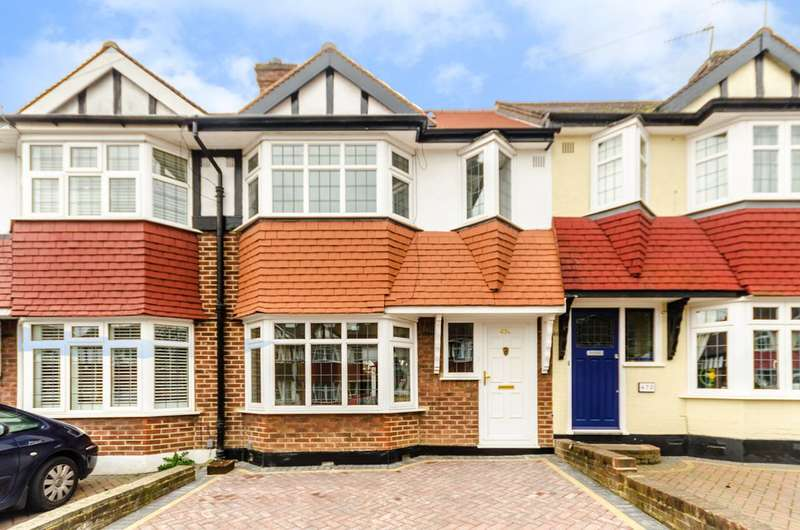4 Bedrooms Terraced House for sale in Lynmouth Avenue, Morden Park, SM4