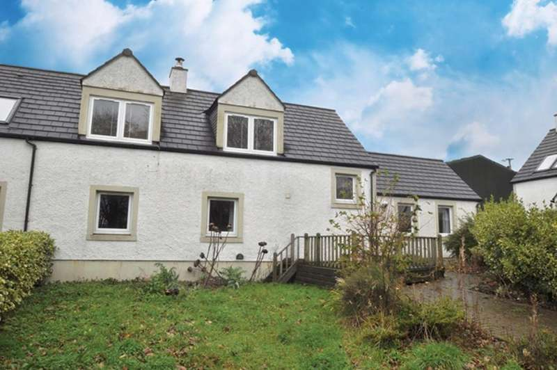 3 Bedrooms Semi-detached Villa House for sale in 2 The Courtyard, Crosbie Mains, West Kilbride, KA23 9PH
