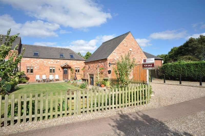 3 Bedrooms Barn Conversion Character Property for sale in Barn 1, Hamilton Hill Farm, Cauldwell Road, Sutton-in-Ashfield