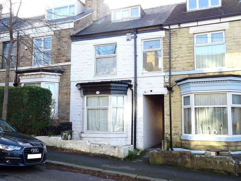 4 Bedrooms Terraced House for sale in 40 Tylney Road, Norfolk Park, Sheffield S2