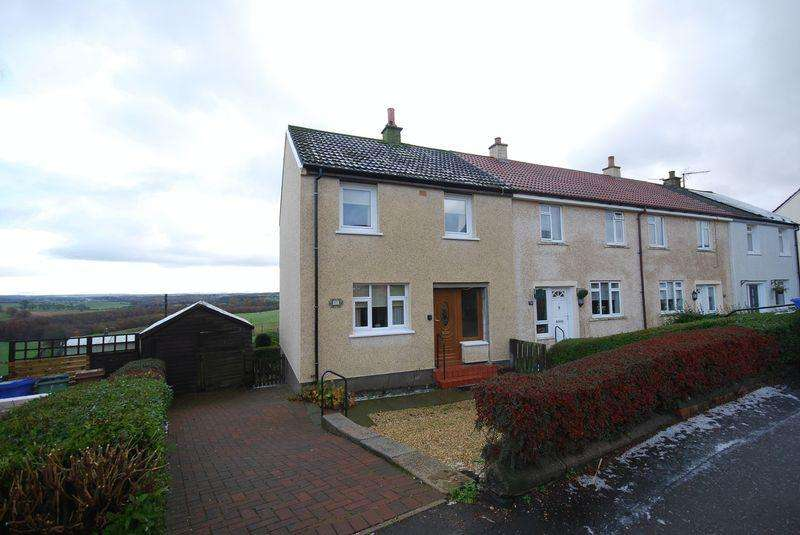 2 Bedrooms End Of Terrace House for sale in 77 Fail Avenue, Tarbolton, KA5 5RL