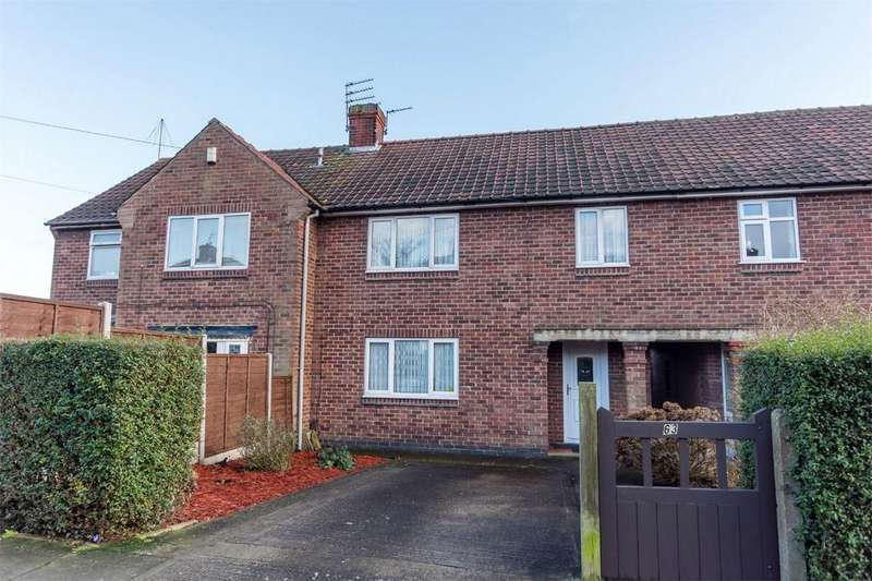 3 Bedrooms Terraced House for sale in Tennent Road, Acomb, YORK