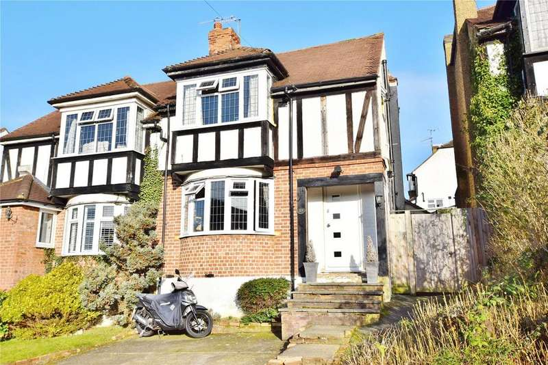 3 Bedrooms Semi Detached House for sale in Ashfield Avenue, Bushey, Hertfordshire, WD23