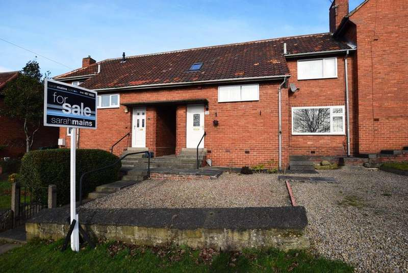 2 Bedrooms Terraced House for sale in Low Fell