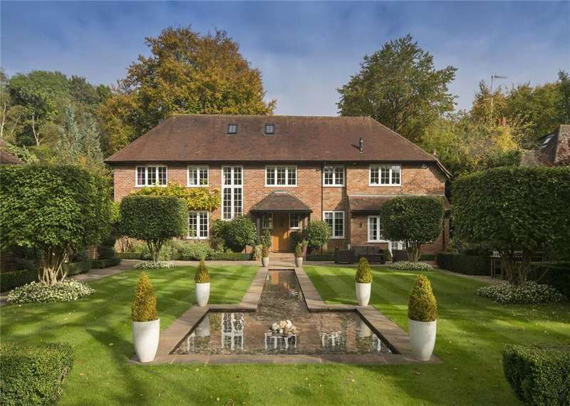 5 Bedrooms Detached House for sale in School Lane, Seer Green, Beaconsfield, Buckinghamshire, HP9