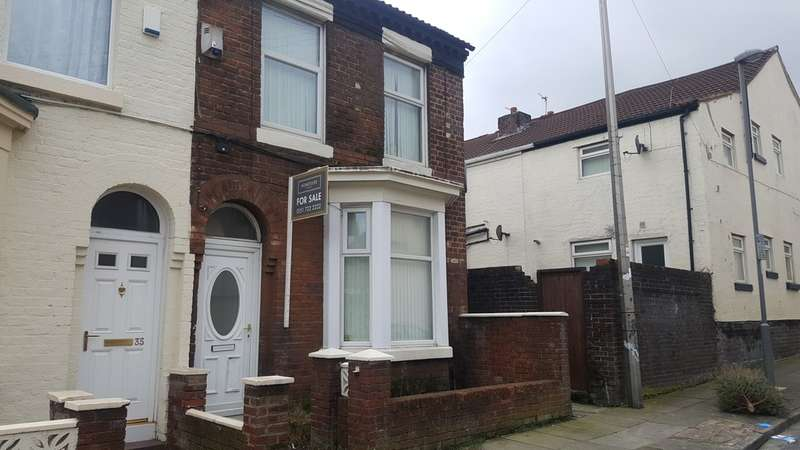 3 Bedrooms End Of Terrace House for sale in York Street, Walton, Liverpool L9