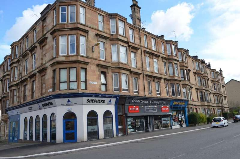 2 Bedrooms Flat for sale in Kilmarnock Road, Flat 1/4, Shawlands, Glasgow , G43 1TX