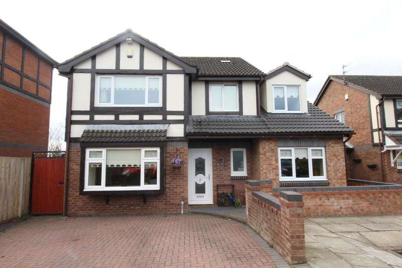 5 Bedrooms Detached House for sale in The Moorings