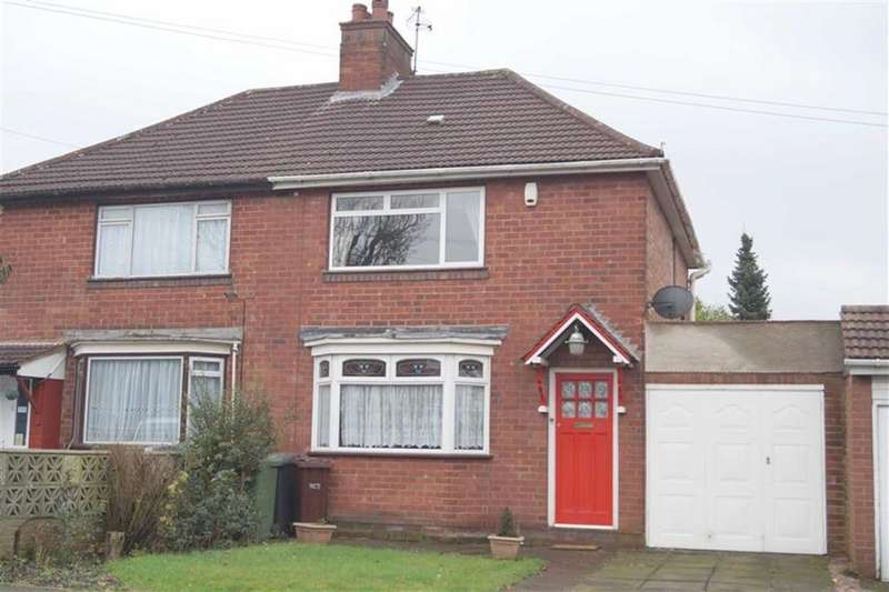 2 Bedrooms Semi Detached House for sale in Newbolds Road, Fallings Park, Wolverhampton