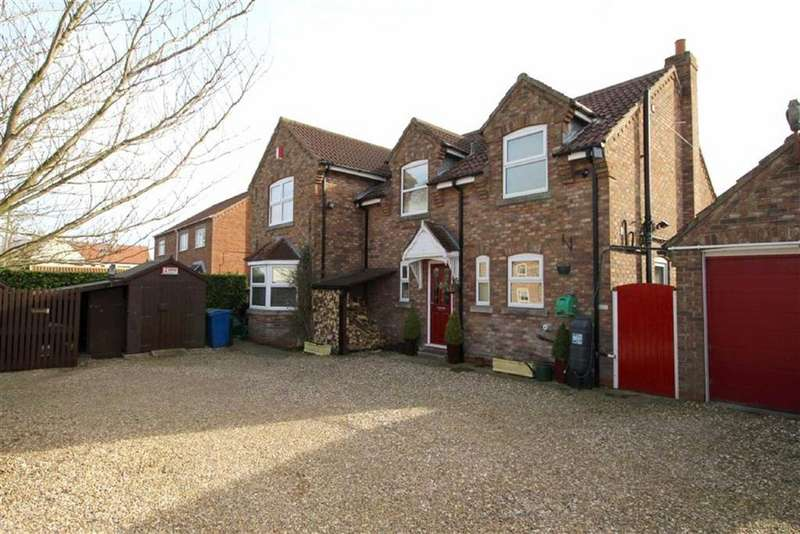4 Bedrooms Detached House for sale in Main Street, Main Street, Skerne, East Yorkshire