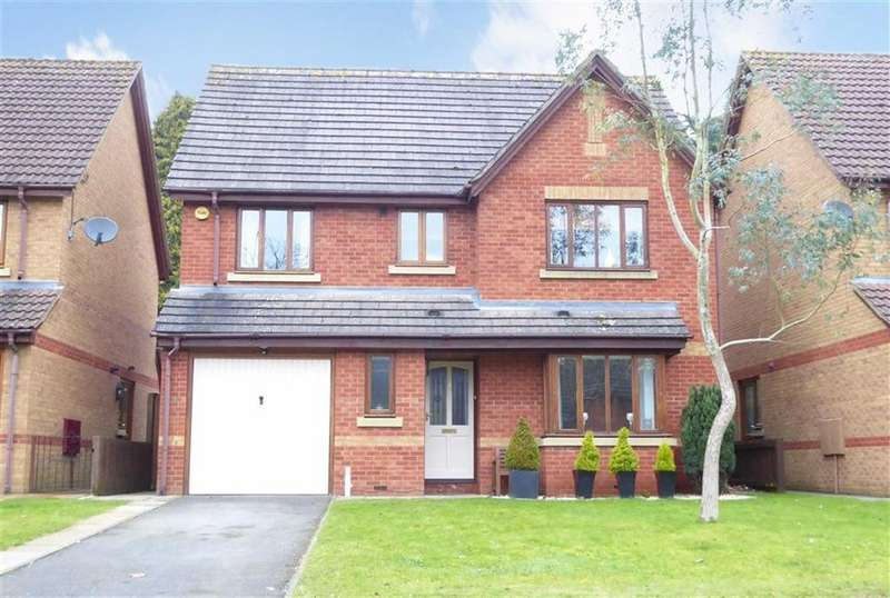 4 Bedrooms Detached House for sale in Leyesland Court, Banbury