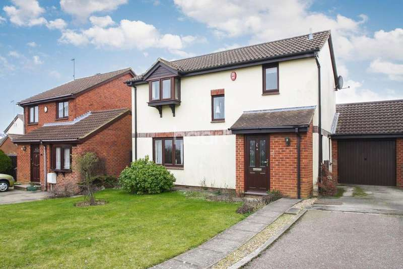 3 Bedrooms Detached House for sale in Redmire Close, Luton