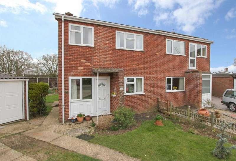 3 Bedrooms Semi Detached House for sale in Maple Close, Wymondham, Norfolk