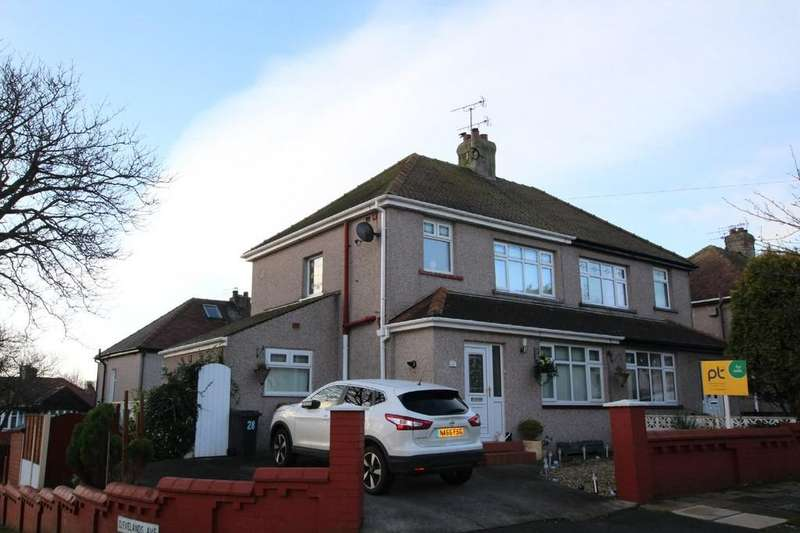 3 Bedrooms Semi Detached House for sale in 28 Longlands Avenue, Barrow