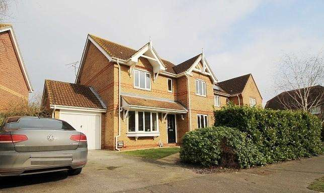 4 Bedrooms Detached House for sale in Gladiator Way, Colchester, Essex, CO2