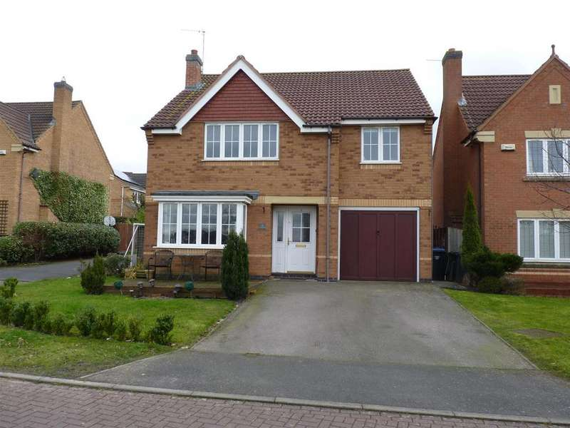 4 Bedrooms Detached House for sale in Gilbert Close, Market Harborough