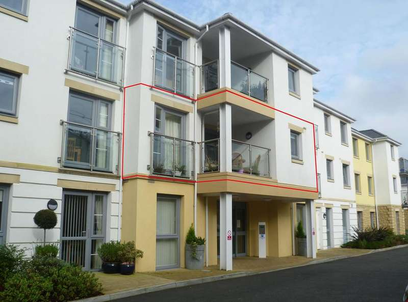 2 Bedrooms Retirement Property for sale in 2 bedroom apartment at Tregolls Road, Truro TR1