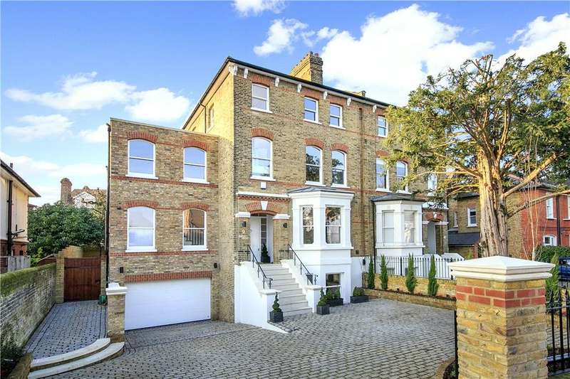 5 Bedrooms Semi Detached House for sale in St. Peters Road, St Margarets, Twickenham, TW1