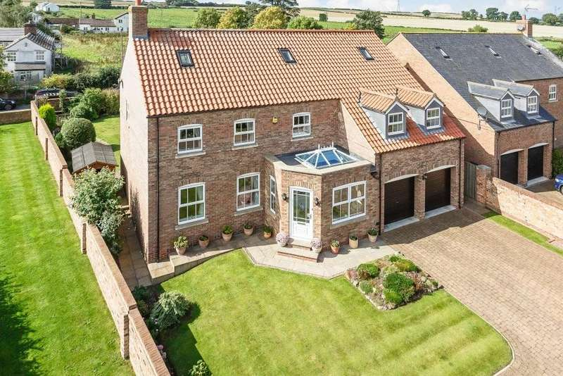 6 Bedrooms Detached House for sale in Hall Farm Court, Tockwith Road, Long Marston, York, YO26