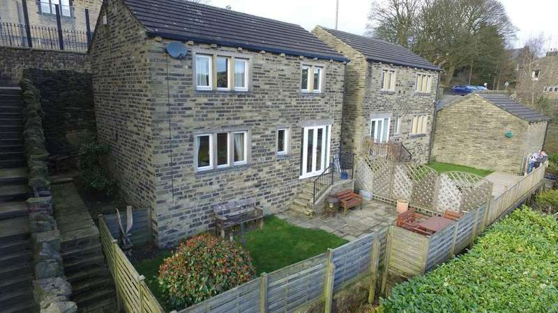 3 Bedrooms Semi Detached House for sale in Valley Rise, Mill Bank, Halifax HX6