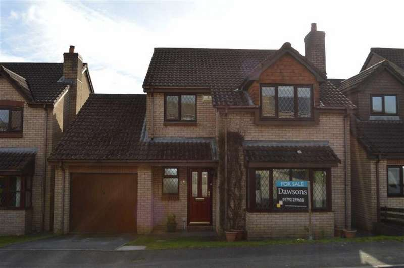 4 Bedrooms Detached House for sale in Juniper Close, Swansea, SA2