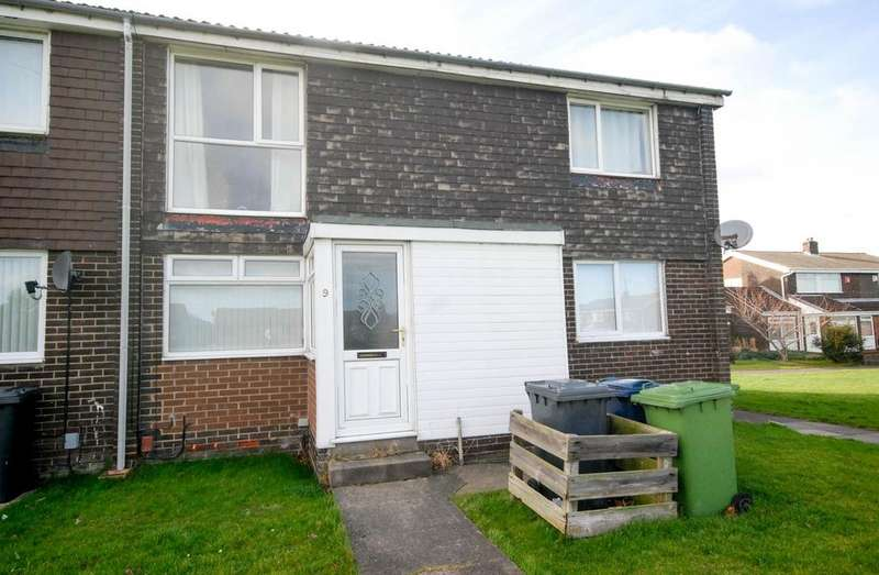 2 Bedrooms Flat for sale in Ely Way, Jarrow