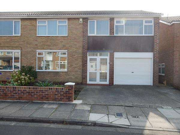 4 Bedrooms Semi Detached House for sale in Barton Crescent, Wolviston Court, Billingham TS22