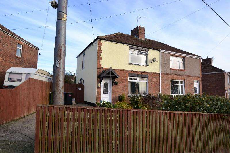 3 Bedrooms Semi Detached House for sale in Hawthorne Road, Ferryhill