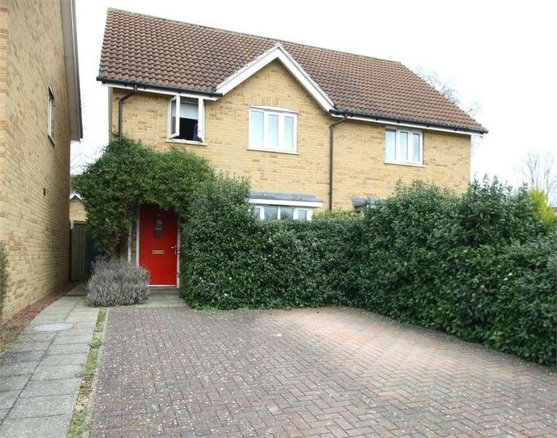 3 Bedrooms Semi Detached House for sale in Clibbon Court, Butt Road, Great Cornard, SUDBURY, Suffolk