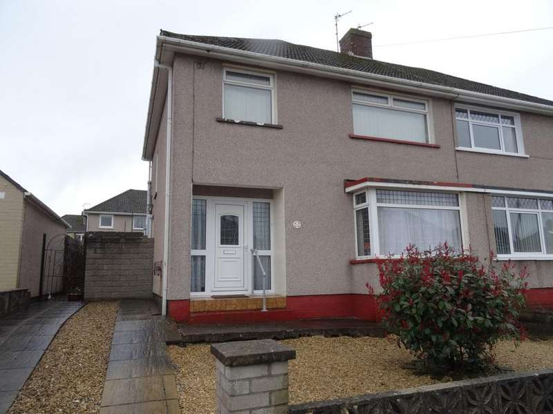 3 Bedrooms Semi Detached House for sale in HEOL NANT, NORTH CORNELLY, CF33 4DG