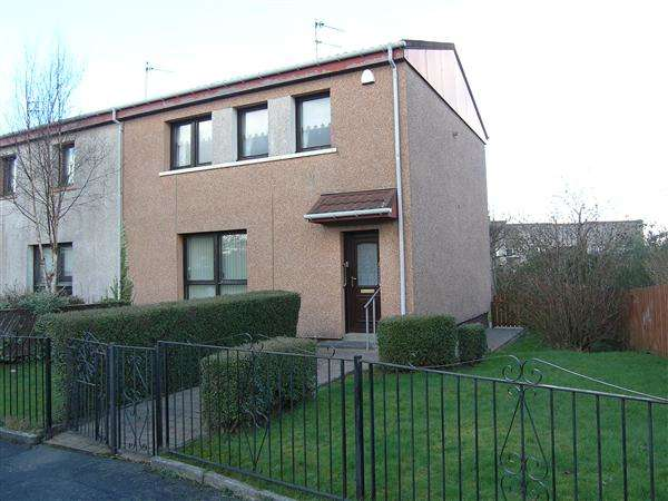 3 Bedrooms End Of Terrace House for sale in Dunure Drive, Spittal, Glasgow