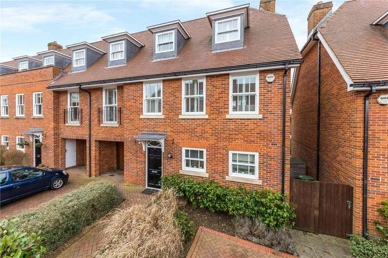 5 Bedrooms Semi Detached House for sale in Miller Close, Redbourn, St. Albans, Hertfordshire