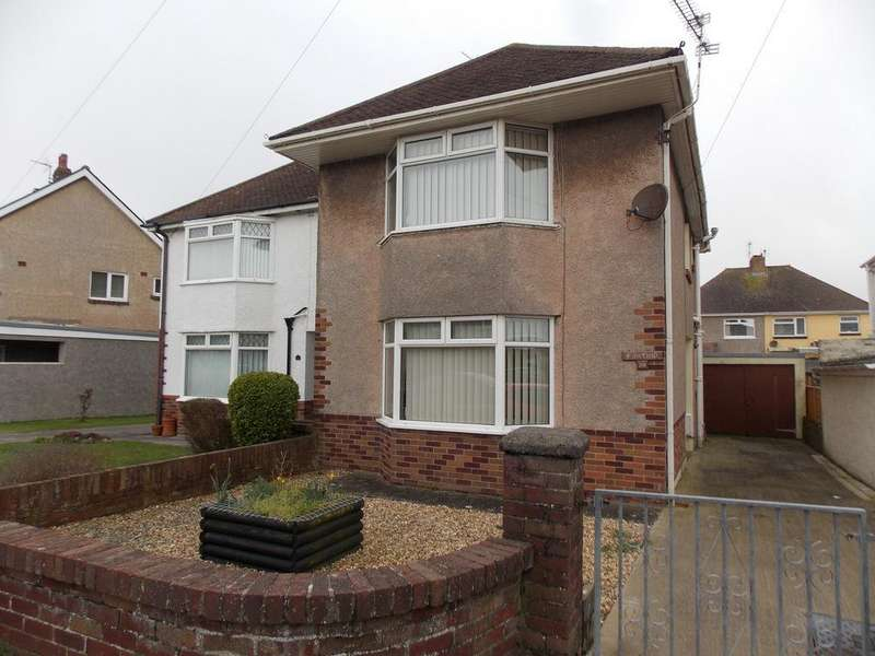 3 Bedrooms Semi Detached House for sale in NICHOLLS AVENUE, PORTHCAWL, CF36 5LL