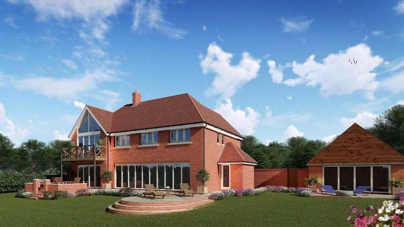 4 Bedrooms Detached House for sale in Creech Hill, Wimborne St Giles