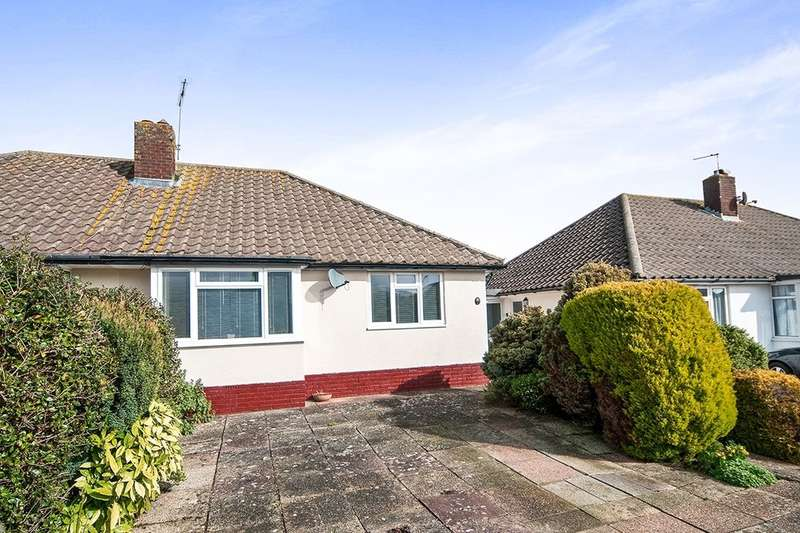 2 Bedrooms Semi Detached Bungalow for sale in Grosvenor Close, Wannock, Polegate, BN26