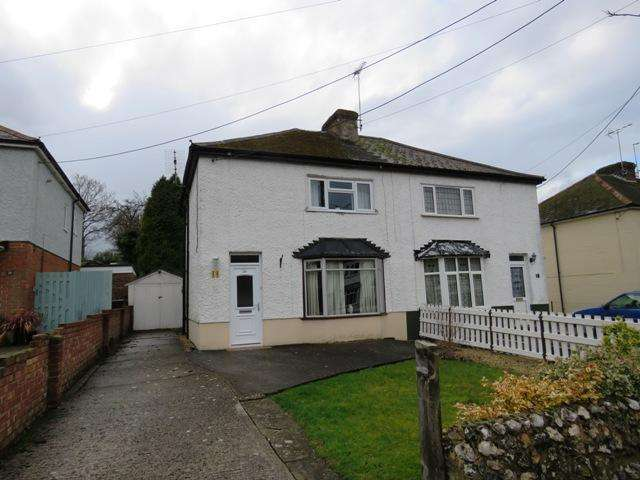 3 Bedrooms Semi Detached House for sale in SOUTH VIEW GARDENS, ANDOVER SP10