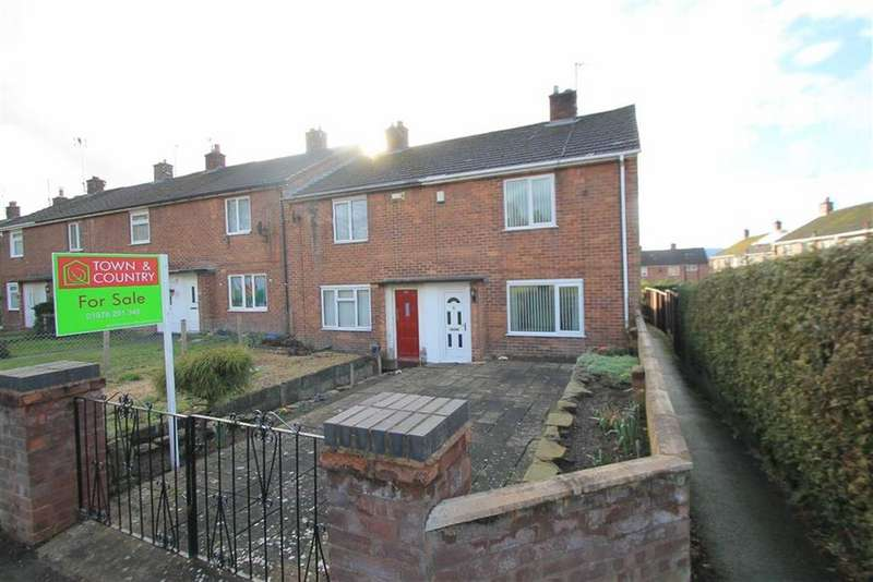 2 Bedrooms End Of Terrace House for sale in Coed Aben, Wrexham, Wrexham