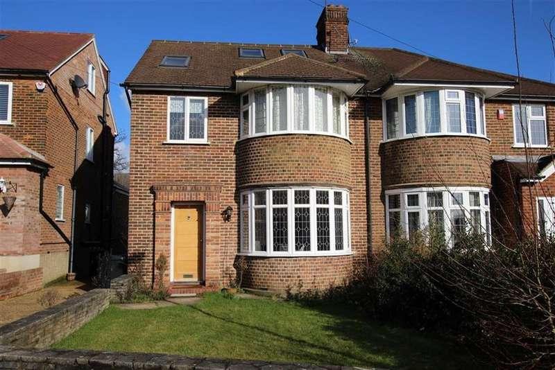 5 Bedrooms Semi Detached House for sale in Linkside, Woodside Park, London