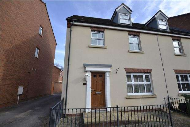 4 Bedrooms End Of Terrace House for sale in New Charlton Way, BRISTOL, BS10 7TN