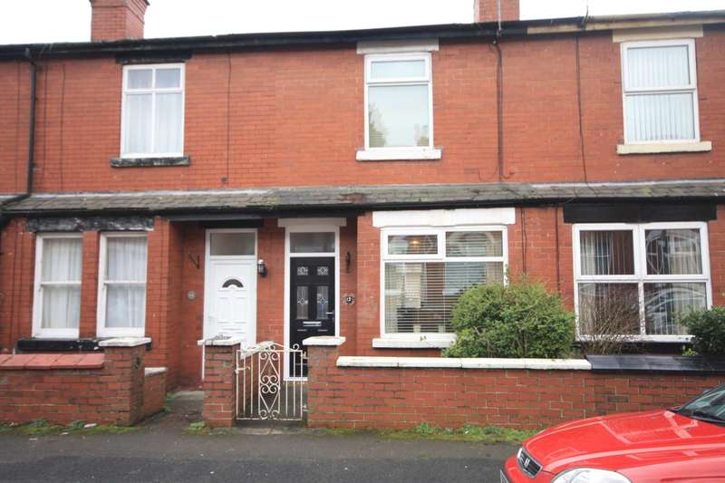 2 Bedrooms Terraced House for sale in Milton Road, Prestwich