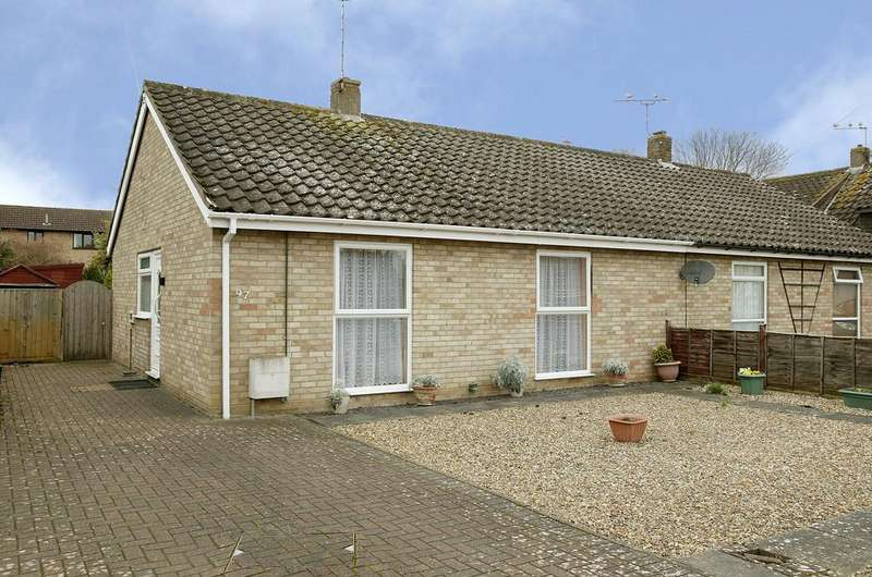 2 Bedrooms Semi Detached Bungalow for sale in The Paddocks, Old Catton