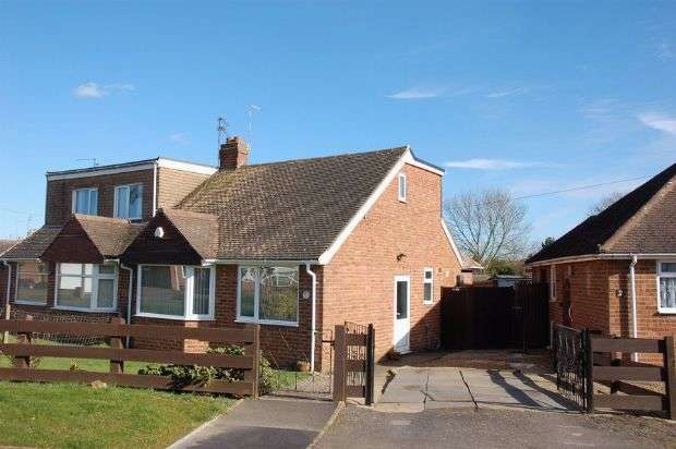 2 Bedrooms Semi Detached House for sale in Greenwood Close, Moulton, Northampton NN3 7RD