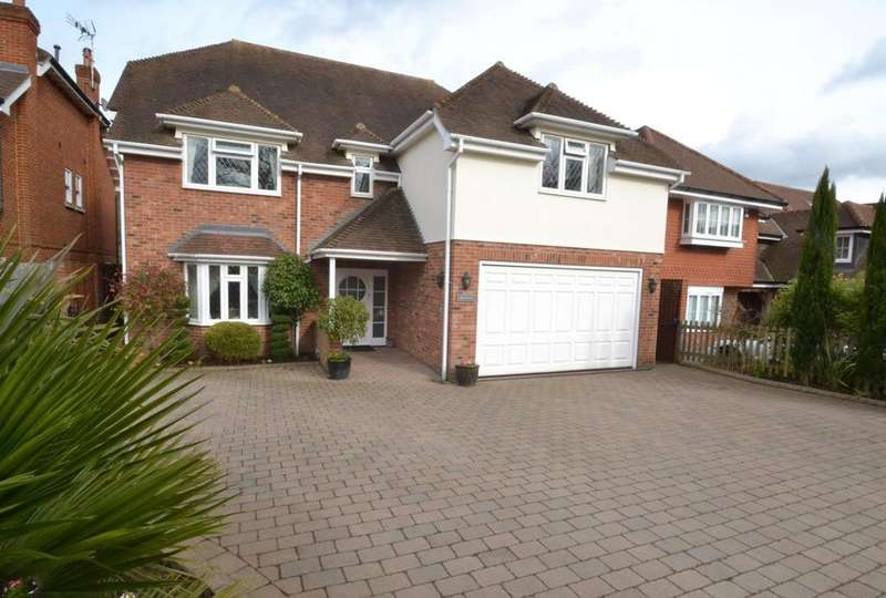 5 Bedrooms Detached House for sale in Midwood Deerbank Road, Billericay, Essex, CM11