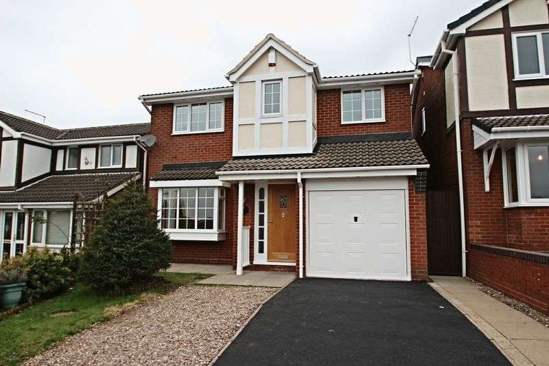 4 Bedrooms Detached House for sale in Smallwood Close, Waterhayes